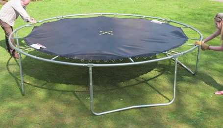 outbound trampoline set up instructions