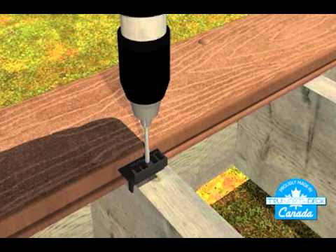 trex select decking installation instructions