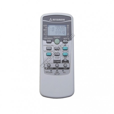 operating instructions for remote control for mitsubishi air-conditioner