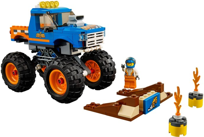 lego city great vehicles monster truck instructions
