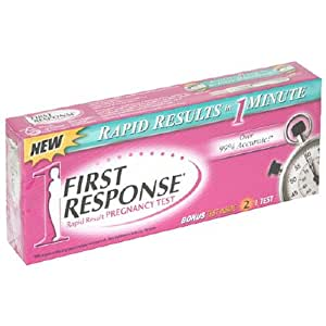 first response rapid result instructions