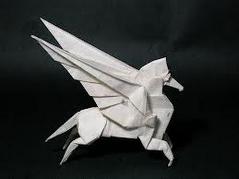 how to make an origami pegasus instructions