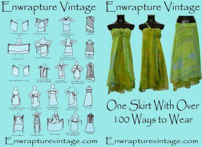 how to make magic wrap dress instructions