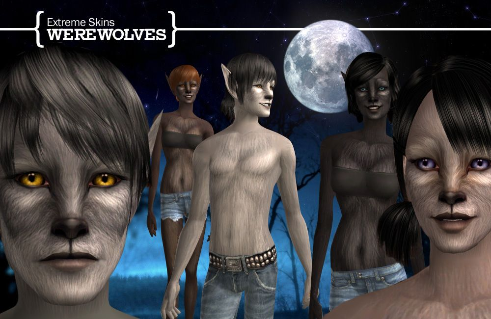 Sims 3 how to change werewolf hair