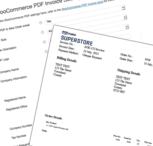 Sliced pdf invoice extension nulled